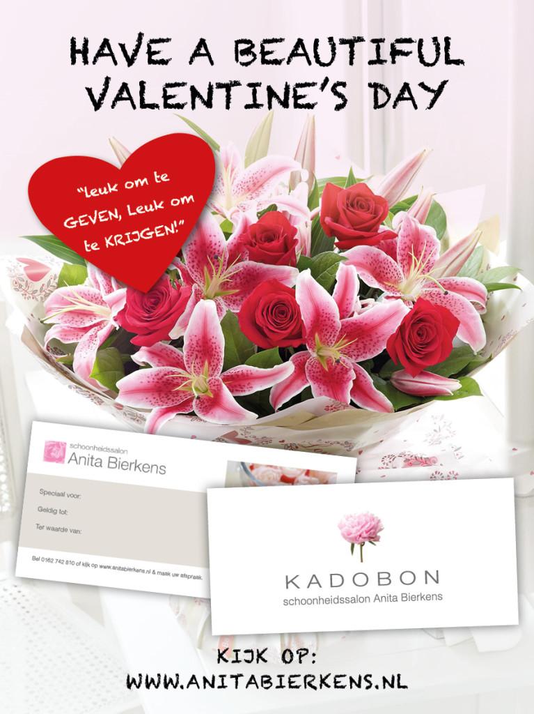 Verras nu je Valentijn met iets origineels. Geef eens een Heerlijk ontspannende Schoonheidsbehandeling  Kado!